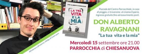 Don Alberto Ravagnani a Chiesanuova